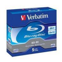 DISCO BLU-RAY BD-RE SL 25GB JC Pack5 VERBATIM (REGRABLABLE)