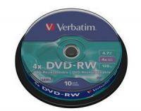 DVD-RW 4.7 4X LATA 10 VERBATIM